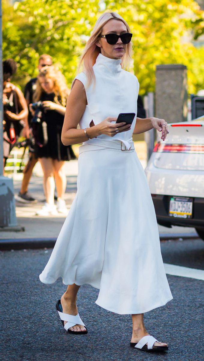 Como usar vestido branco no dia a dia