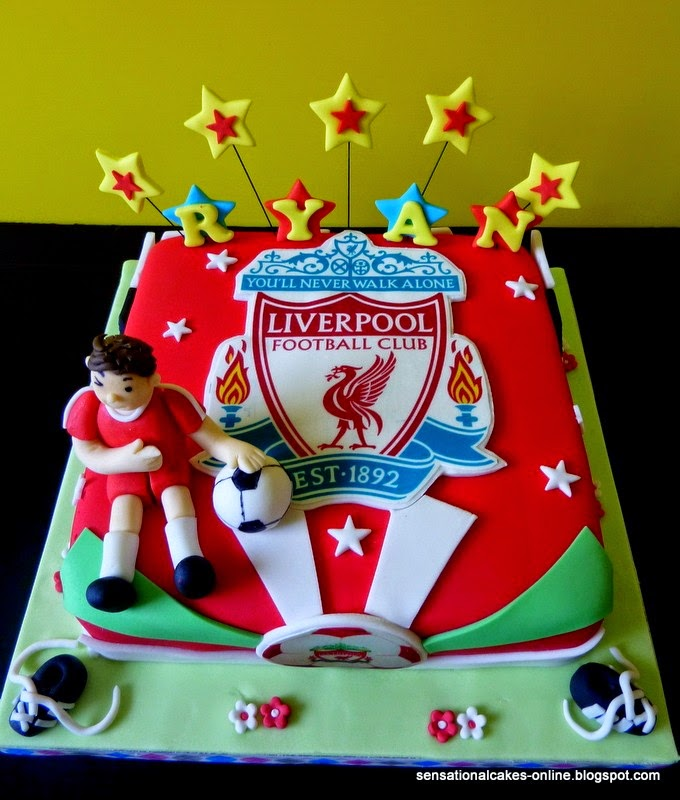 Liverpool Cake Topper Square