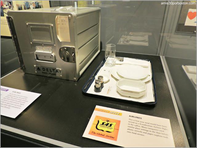 Comida Aviones Museo de Arte Culinario de Providence