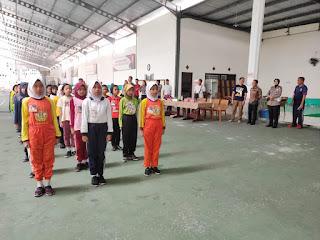 Kapolres Lumajang Beserta Bupati Hadir di Tengah Latihan Pocil