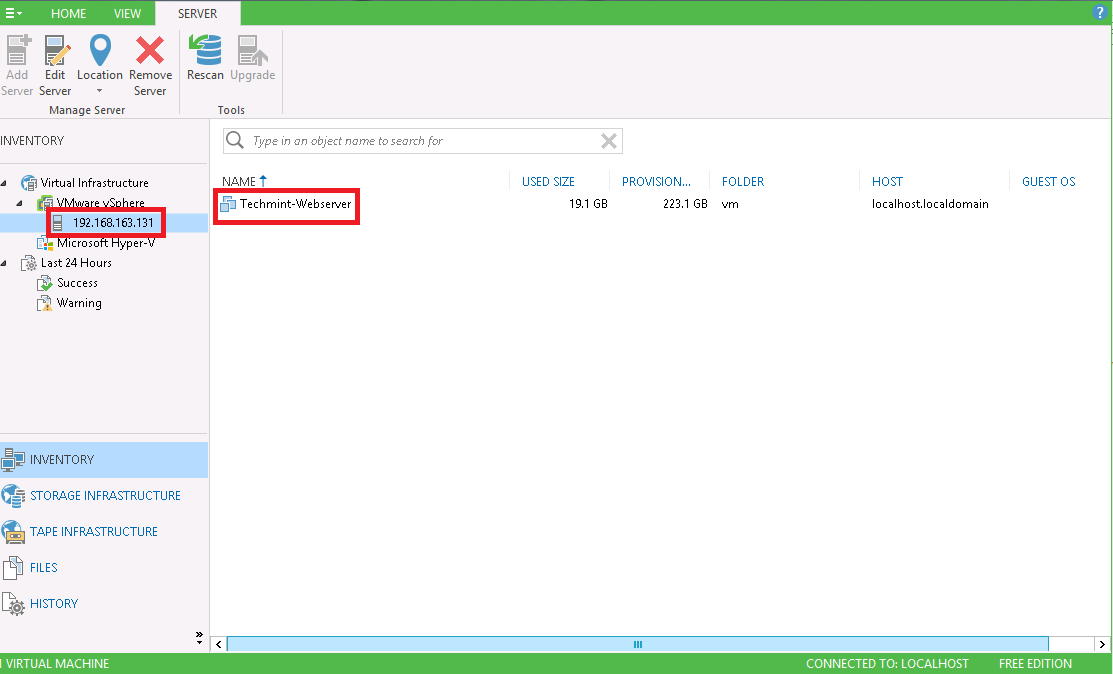 How to take VM Backup free using Veeam Backup and