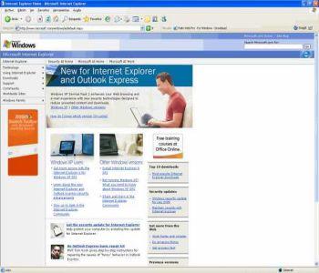 Internet Explorer Vista 9.0 Vista Screenshot 1