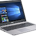 ASUS VivoBook K501UX-FI277T 15.6 inch Laptop Driver Free Download - For Windows 10
