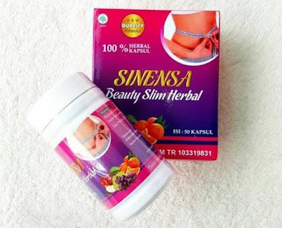 SINENSA BEAUTY SLIM HERBAL BPOM ( BSH BPOM ) Whitening Dan Pelangsing