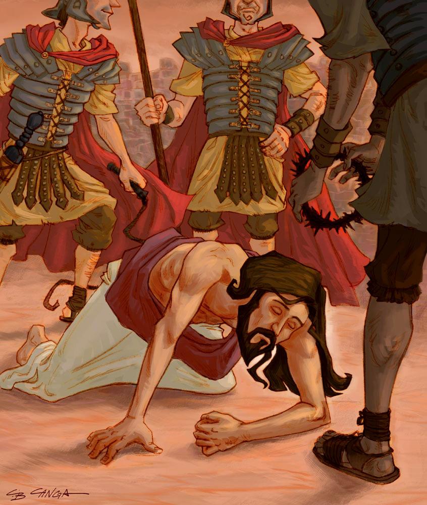 Sekolah Minggu Ceria Gambar Cerita Alkitab Tentang Kematian