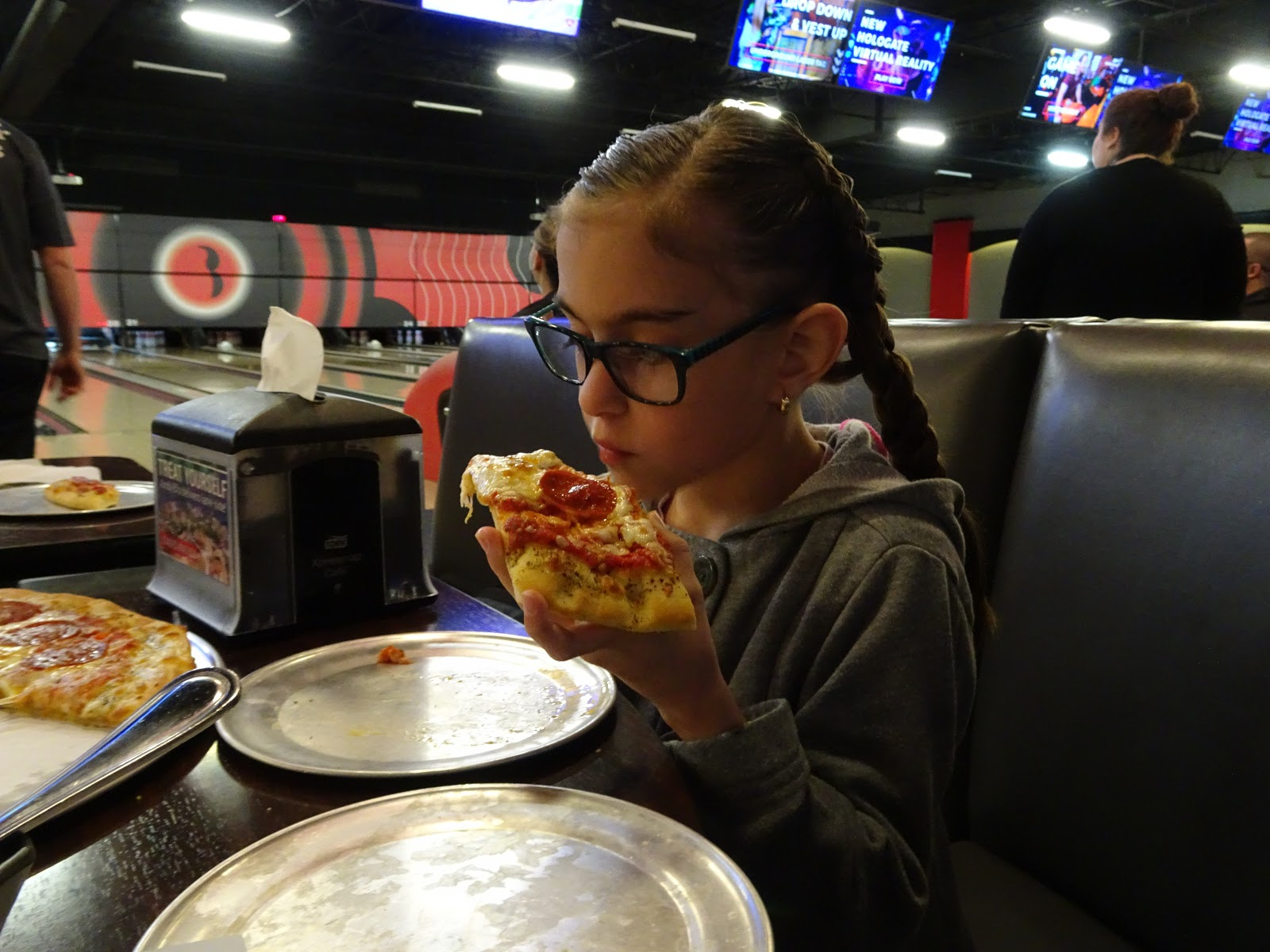 lunch at the bowling ally