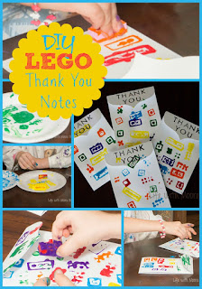 Here's a Quick Way to Make Lego Thank You Cards