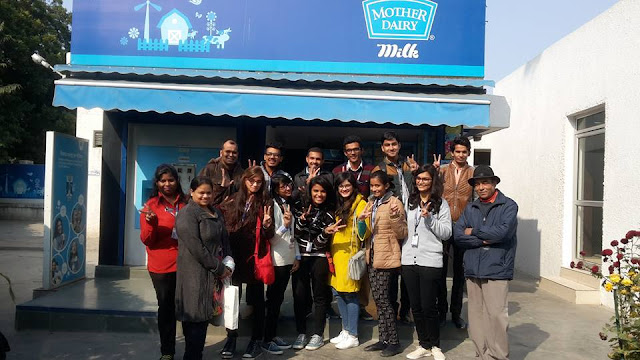 RNB Global University | Industrial Visit to Mother Dairy Plant