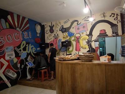 Kafe di Muara Enim