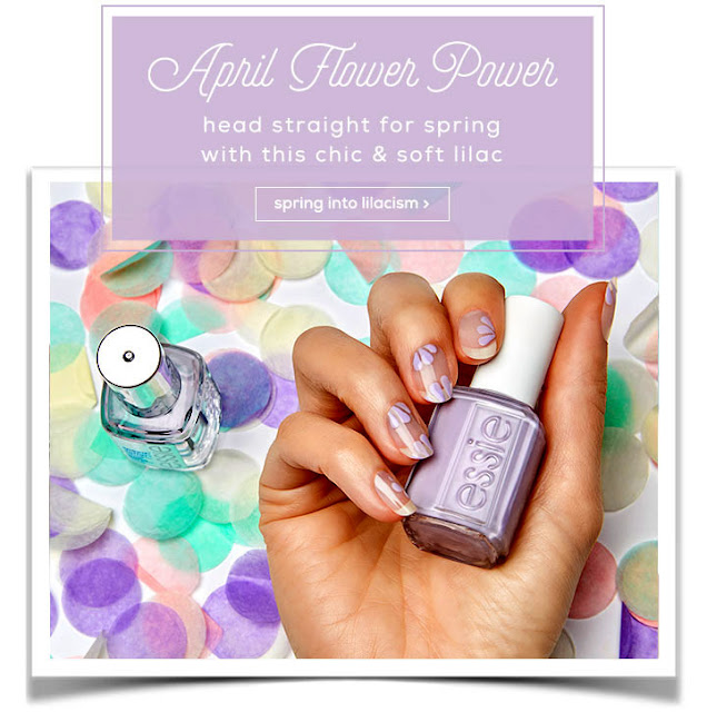 RETRO KIMMER\'S BLOG: LOVELY ESSIE NAIL COLOR FOR APRIL LILACISM