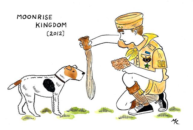 ウェス・アンダーソンと犬