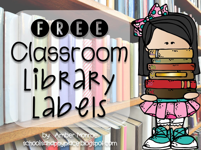 School Is a Happy Place: Classroom Library Made Simple