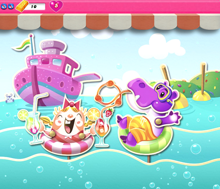 Candy Crush Saga 1026-1040