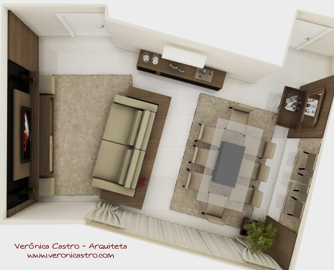 Fotos De Sala De Jantar ~  Arquiteta E Urbanista Sala De Estar Jantar E Fotos De Veronica Castro