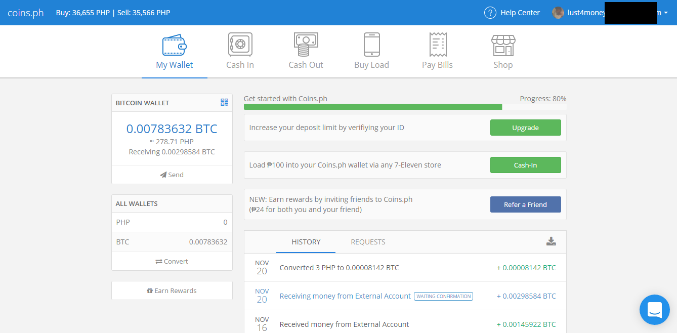 Coins review an established and legitimate bitcoin wallet coins review legit or scam 2016 ccuart Choice Image