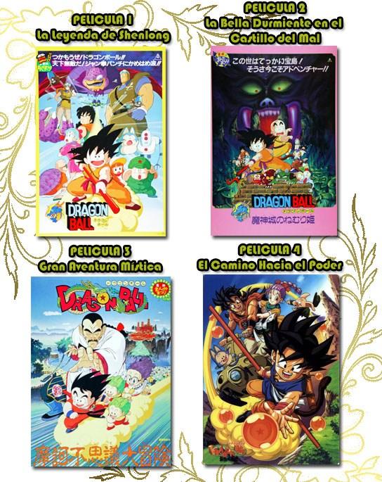 Películas Dragon Ball Español Latino
