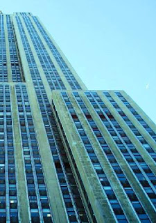 Setbacks of Empire State Building to taper Structure with height