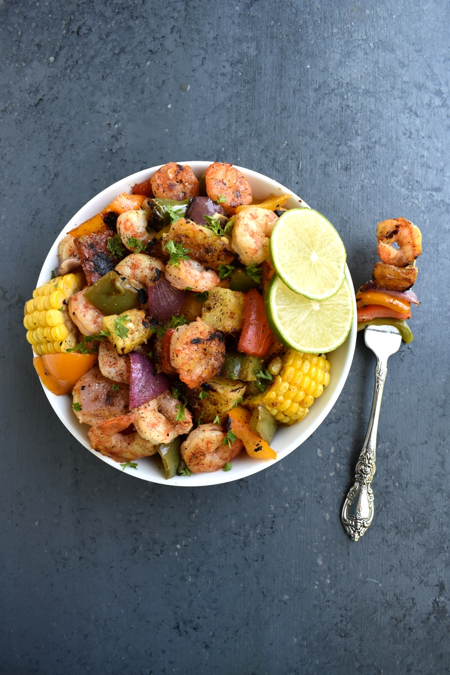 Healthy Shrimp and Vegetables
