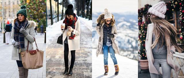одеться зимой красиво и тепло зимние образы