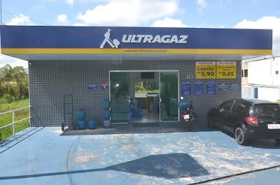 Rana Comércio de Gás e Água - Distribuidor Ultragaz