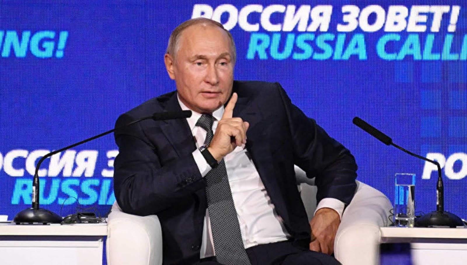 Putin berbicara tentang insiden di Selat Kerch untuk pertama kalinya