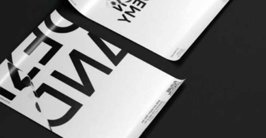 Tendencias de diseño gráfico 2019: Tipografías Disruptivas
