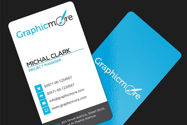 free business card mockup, vertical business card mockup