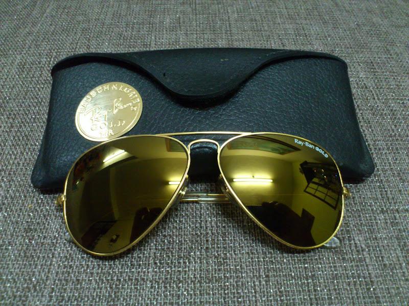 72ab8f0ca6 Vintage Ray Bans 14k Gold « Heritage Malta
