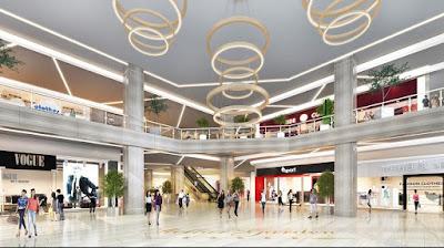 Thiết kế trung tâm thương mại đa tầng Grandeur Palace Giảng Võ