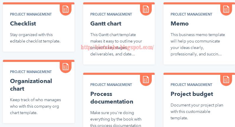 5 Template Manajemen Proyek Gratis Untuk Perencanaan Ninna Wiends