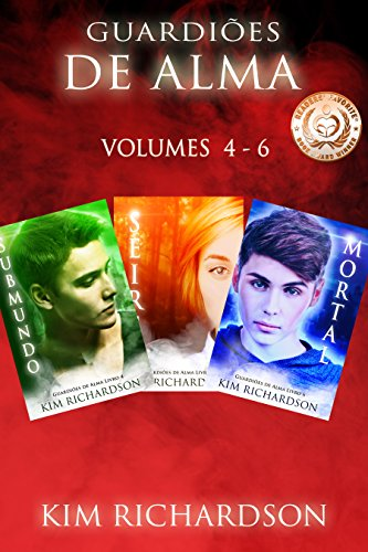 Guardiões de Alma volumes 4 - 6 Kim Richardson