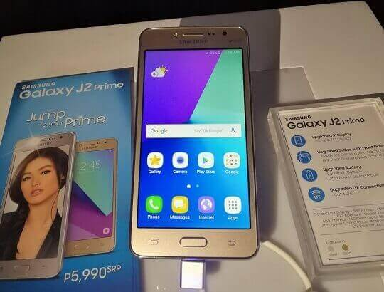 Samsung Galaxy J2 Prime Lands in PH for Php5,990; 5-inch Quad Core LTE Android M