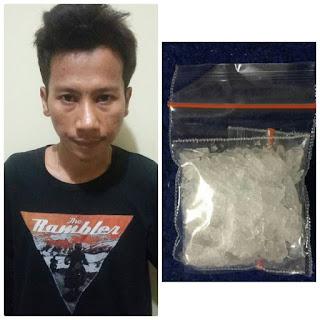Antar Narkoba M Silmi Ditangkap