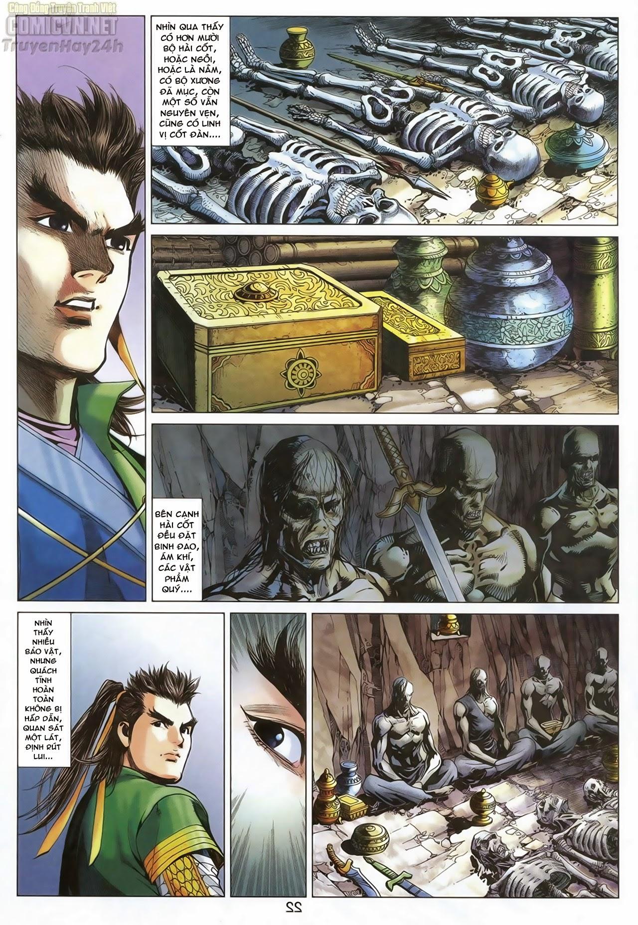 Anh Hùng Xạ Điêu anh hùng xạ đêu chap 69: hồn đoạn thiết chưởng phong trang 23