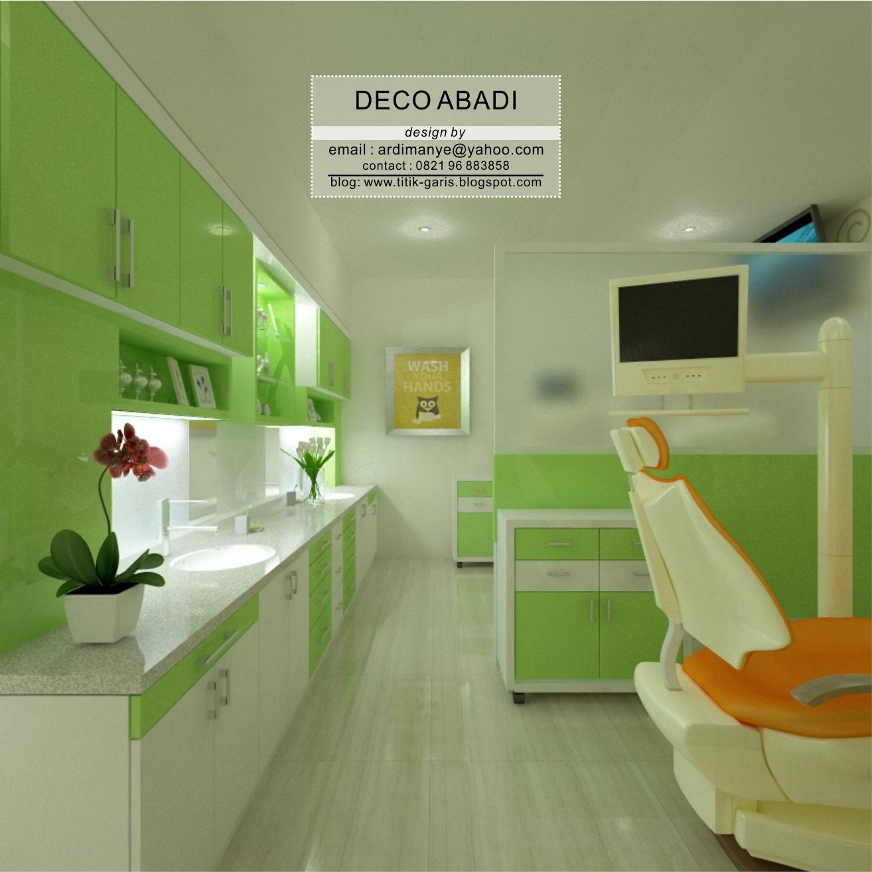 Arsitek Indonesia: Desain Interior Klinik Gigi Pada Bangunan Ruko