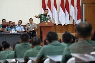 Himbauan Panglima TNI : Generasi Penerus TNI Harus Sensitif Terhadap Isu Global