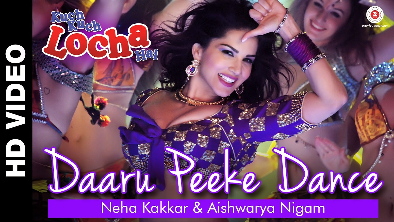 Daaru Peeke Dance Video Song l Sunny Leone