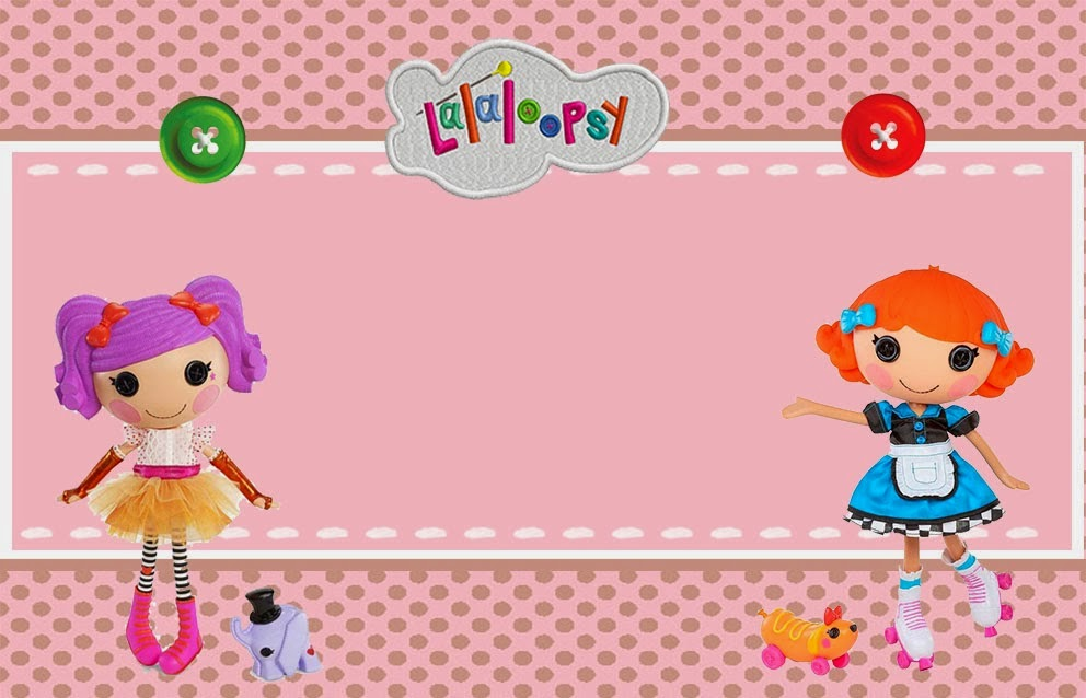 Lalaloopsy: Free Printable Invitations, Labels or Cards. | Oh My ...