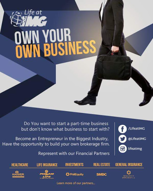 be in the financial business