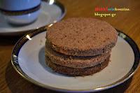 Μπισκότα Ζέας με Λάδι Καρύδας και Μαύρη Ζάχαρη - by https://syntages-faghtwn.blogspot.gr