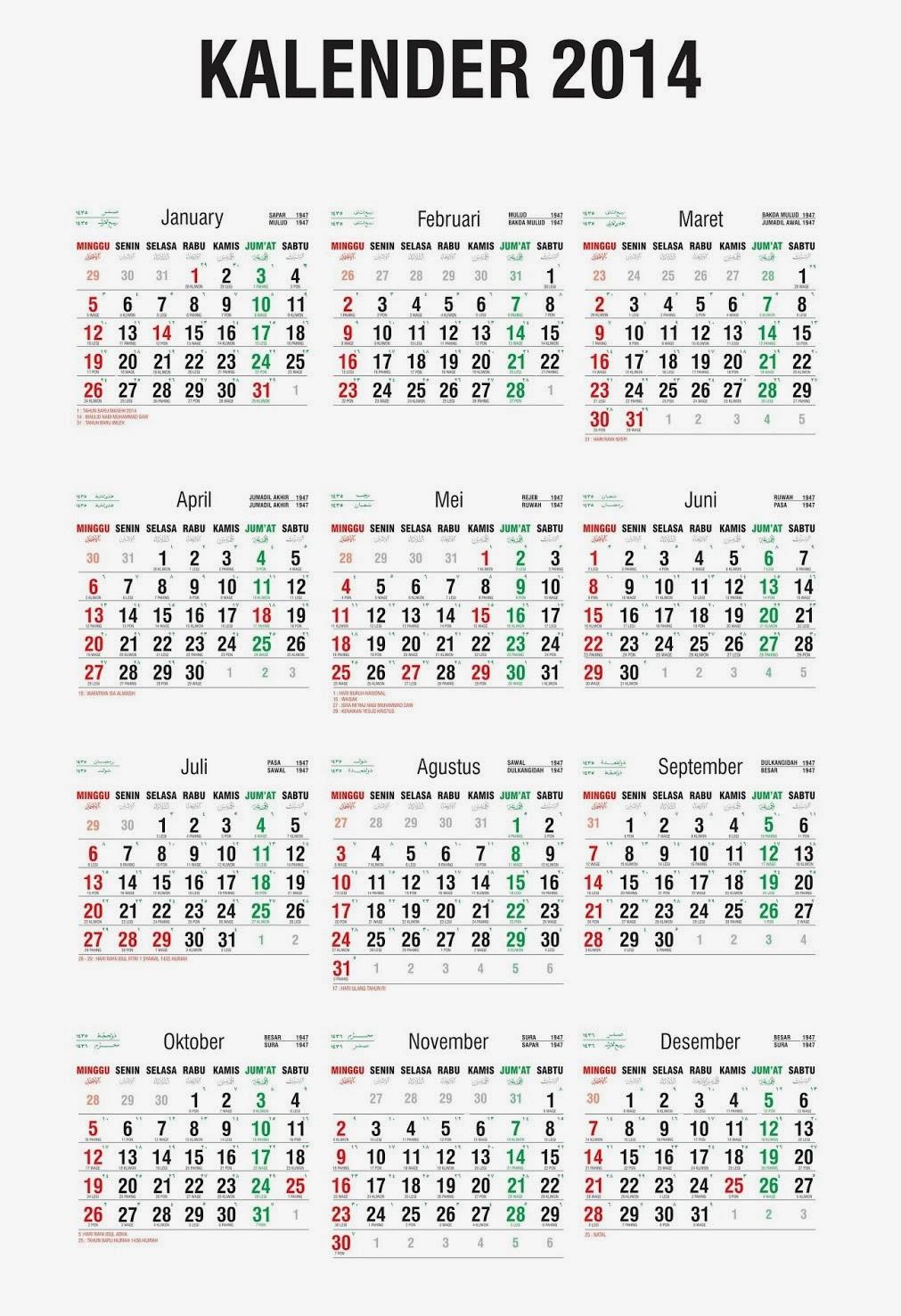 Kalender 2017 Indonesia Cdr : kalender, indonesia, Kalender, Libur, Nasional, Cwqr.nekazhkam.site