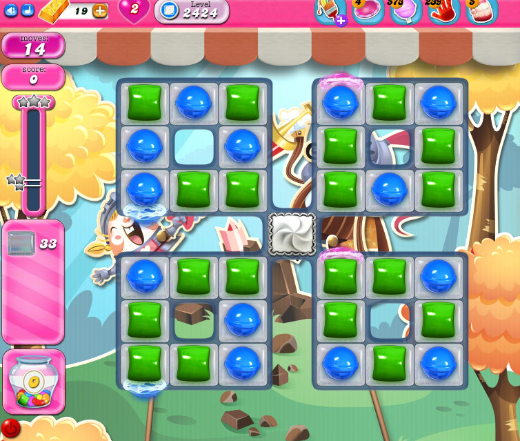Candy Crush Saga level 2424