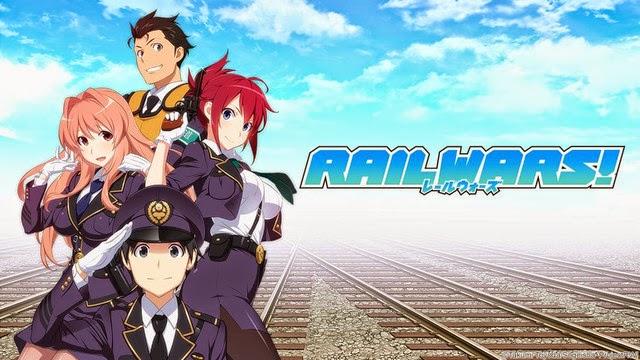 Rail Wars! Episode 1 Subtitle Indonesia