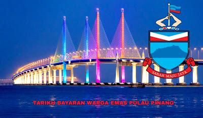 Tarikh Bayaran Warga Emas Pulau Pinang 2019