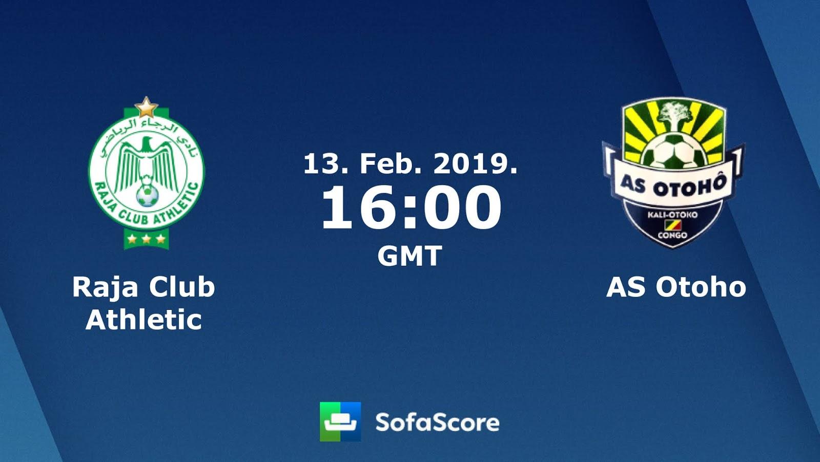 مشاهدة مباراة أوثو دويو والرجاء الرياضي بث مباشر بتاريخ 17-03-2019 كأس الكونفيدرالية الأفريقية