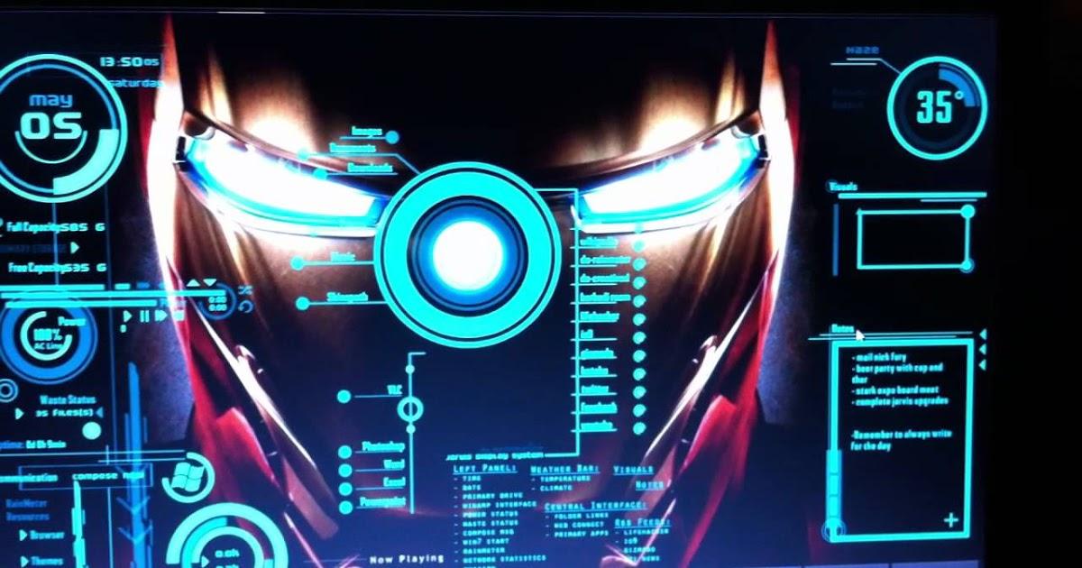 Customize your Windows 7/8/8 1/10 desktop as Jarvis! - TECHMAGISTER