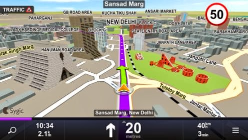 Sygic & MapmyIndia Offline GPS Navigation App for Android