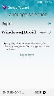 تعريب Samsung GALAXY NOTE 3 Verizon N900V 5 0