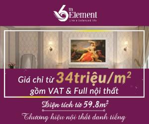 Chung cư 6th Element