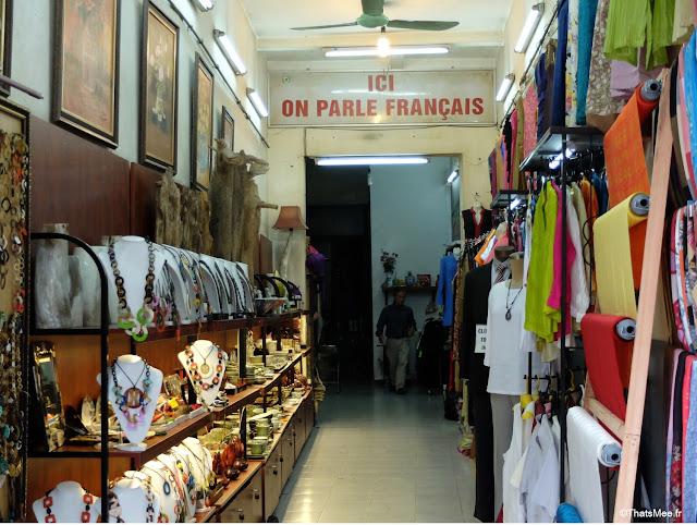 ici on parle francais boutique hanoi vietnam